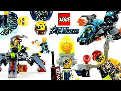 Vidéo LEGO Ultra Agents 70171 : L'attaque ultrasonique