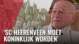 Ajacied opgevangen door sc Heerenveen tijdens de Hongerwinter