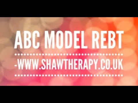 ABC Model used in REBT - Concise explanation on the ABC model used in REBT.  A interesting fun easy to follow video which gives clear information about the model. Please subscribe to my channel for more videos like this