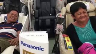 massage chair first time