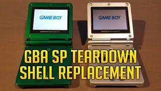 Game Boy Advance SP Teardown & ASG 101 Screen Replacement