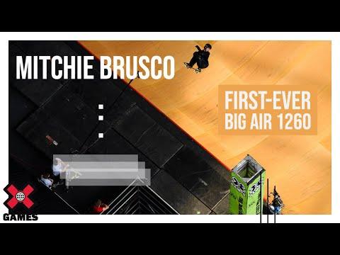 Mitchie Brusco s FirstEver Big Air 1260