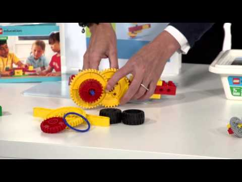 Обзор LEGO Education Machines and Mechanisms 9656