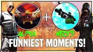AYE AYE GANJA GANJAA    ULTIMATE M249 GOD LEVEL GAMEPLAY    ALPHA AND GAREEB FUNNIEST MOMENTS!!