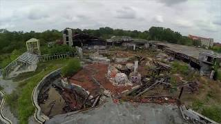 FPV Freestyle, cinematic drone flying in Blub, Berlin, abandoned water park