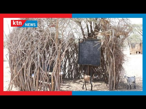 Agony as over 400 pupils learn in a mobile setup and under trees over insecurity in Turkana
