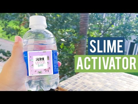 How to make slime activator english version how to make slime activator borax solution ccuart Images