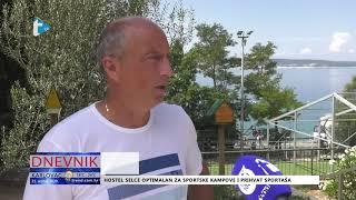 Sportaši u Hostelu Karlovac u Selcu