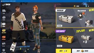 Gambar cover how to BUY ITEMS in rules of survival[ros] EASY!!!!