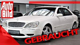 [AUTO BILD] Mercedes S 63 AMG (2002): gebraucht - limitiert - V12