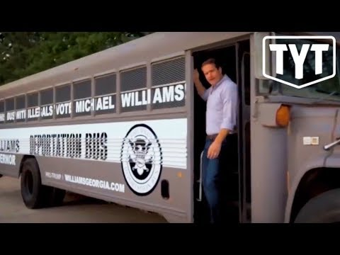 Download Deplorable Republican Creates Deportation Bus HD Video