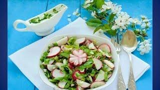 Очень вкусный салат на скорую руку.