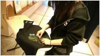 久米繊維Tシャツデコレーションワークショップ