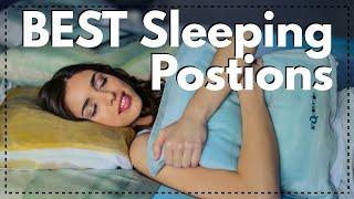 2 BEST Sleeping Positions for Neck, Back, Hip, or Shoulder Pain
