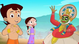 Chhota Bheem & Mighty Raju - Happy Onam | Onam Special Kathakali Dance Competition