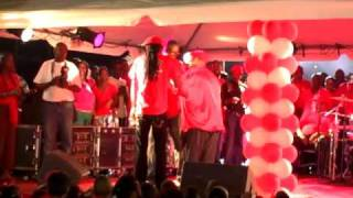 preview picture of video 'BeenieMan & Red Hot Flames at ALP - Big Red House Opening - Antigua pt-2'