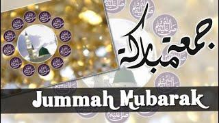 Jumma Mubarak Beautiful Whatsapp Status | Naat Status | WhatsApp Status