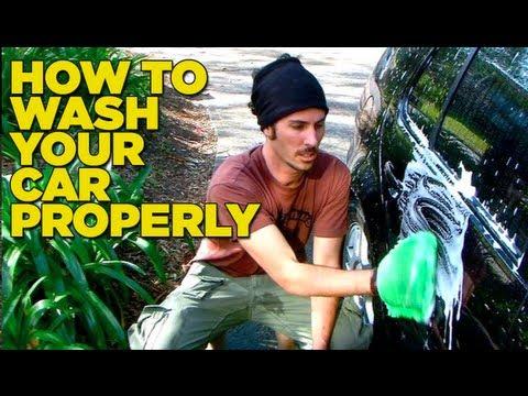 Συμβουλές για το πλύσιμο του αυτοκινήτου