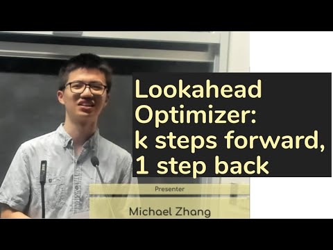 Lookahead Optimizer: k steps forward, 1 step back