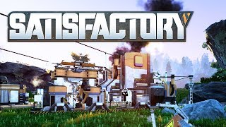 Satisfactory - #1 - PIZZA FACT vs. NACHO FACT (4-Person Multiplayer)
