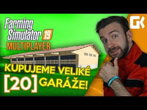 KUPUJEME VELIKÉ GARÁŽE! | Farming Simulator 19 Multiplayer #20