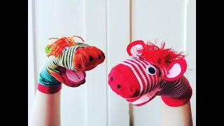 Saturday Family Crafts – Sock Puppets