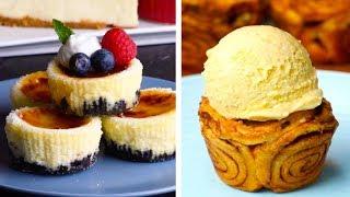 6 Clever Dessert Mashup Recipes   S'mores Baked Alaska & Oreo Crème Brûlée Cheesecake   So Yummy