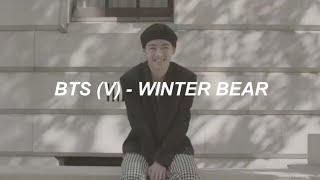 V (BTS)   'Winter Bear' Lyrics