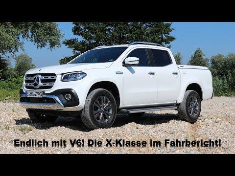 2018 Mercedes-Benz X350d 4MATIC X-Klasse mit V6 Diesel Fahrbericht Probefahrt Review Meinung Kritik