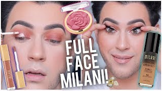 FULL FACE USING ONLY MILANI! DRUGSTORE ONE BRAND TUTORIAL! - Video Youtube