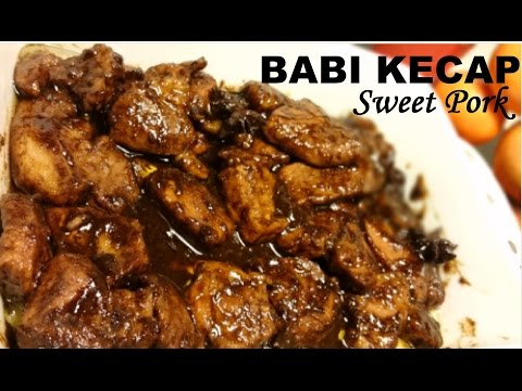 Resep Babi Kecap Enak (Delicious Sweet Pork Recipe)