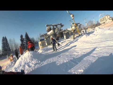 Видео: Видео горнолыжного курорта Чекерил в Удмуртия