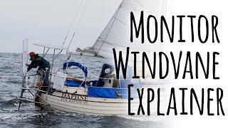 Monitor Windvane Self Steering Explainer