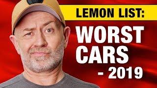 Lemon list: The top 20 worst cars to buy in 2019 | AutoExpert John Cadogan