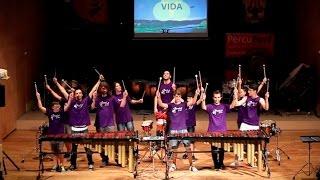 ALEGRÍA DA VIDA.- South Africa Ensemble Alumnado PercuFest 2014 dirigido por Enric PIZÀ LOZANO