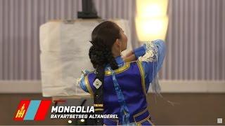 MONGOLIA, Bayartsetseg Altangerel - Top 10 Talent: Miss World 2016