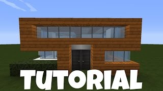 MINECRAFT HOLZHAUS Bauen TUTORIAL HAUS видео Видео - Minecraft hauser bauen tutorial deutsch
