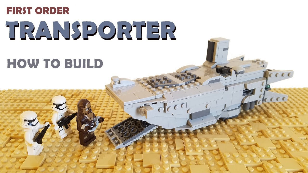 Lego First Order Transporter MOC | Building Instructions