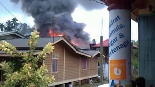 preview picture of video 'kebakaran di pengkalan chepa (kg baung) kota bharu'