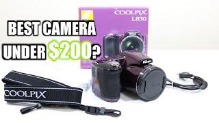 Nikon COOLPIX L830 Unboxing, Setup & Review!