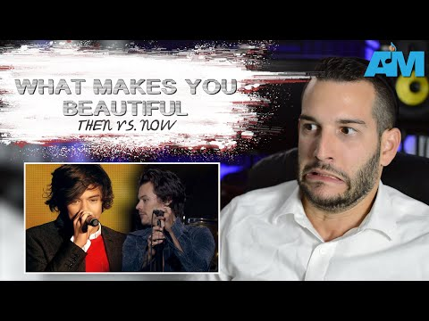 VOCAL COACH reacts to ONE DIRECTION singing What Makes You Beautiful