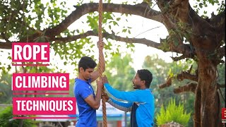 ROPE CLIMBING TRICKS AND TIPS MALAYALAM| KERALA PSC|POLICE,FIRE FORCE,FOREST PHYSICAL TEST