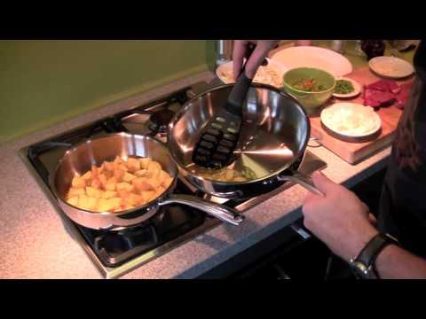 Koken met professionele RVS pannen van Eden Quality