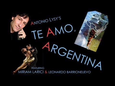 Te Amo, Argentina (multimedia performance) [HD]...