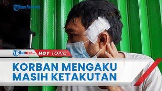 Pelaku Pembacokan Gara-gara Wifi Masih Buron, Korban Mengaku Ketakutan karena Sempat Diancam