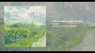 Organ Sonata in D major