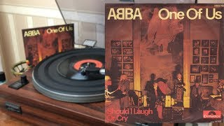 """ABBA - One Of Us / Should I Laugh Or Cry (German Single 7"""")"""