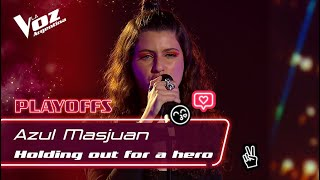 Azul Masjuan - Holding Out For A Hero (Cover) (Live)