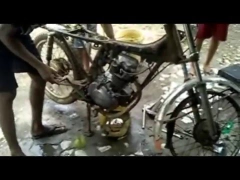 Video Modifikasi Honda CB