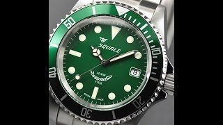 squale 1545 20 atmos first look and impression Самые лучшие видео